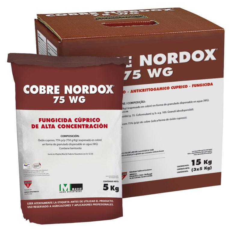 COBRE NORDOX 75 WG Fungicida cúprico a base de óxido cuproso