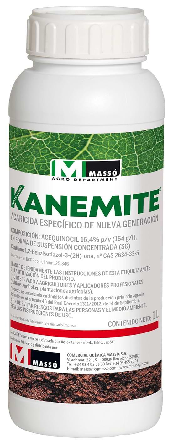 KANEMITE acequinocil 16,4% Acaricida especifico