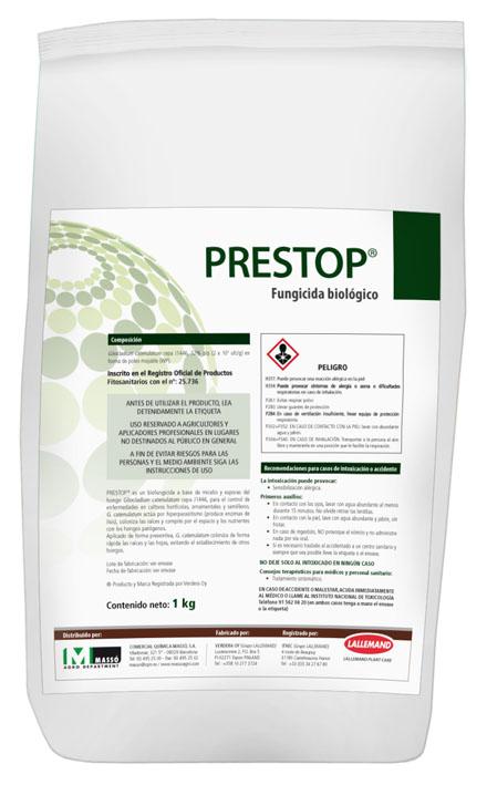 PRESTOP®  biofungicida para cultivos hortícolas, ornamentales y semilleros