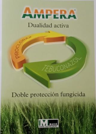 AMPERA la nueva solución contra enfermedades del cereal